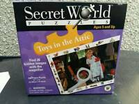 Secret world puzzle - toys in the attic