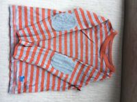 Boden long sleeved boys top 3-4 years