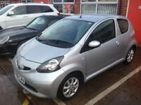 £20 a year road tax 2008 58 Toyota Aygo 1.0 Platinum edition FSH 2 keys HPi clear drives like new