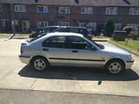 Well maintained honda civic with no defects