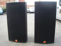 Pair of JBL Soundpower SP125Sub Speakers 1200w each