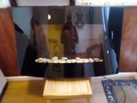 Sentik Curved Electric Fire Excellent Condition