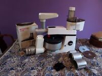 Kenwood Chef food mixer with mincer, food processor, potato peeler, loads more .. bargain