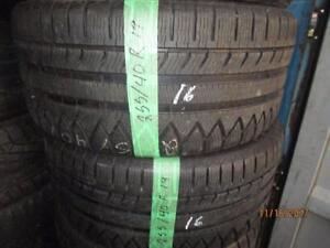 255/40R19 2 ONLY USED MICHELIN WINTER TIRES