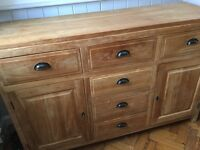 Sideboard - Solid wood (Oak) in immaculate condition. £350