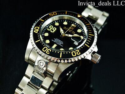 Invicta Men 47mm JT 99 GRAND DIVER AUTOMATIC Black Dial Limited Ed Silver Watch