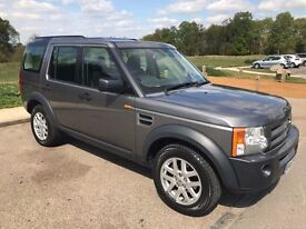 Land Rover Discovery 3 TD V6 XS Special Edition with Ebony Black Leather. Metallic Stornoway Grey