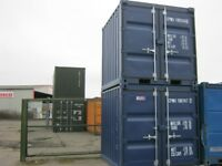 Brand New 8ft Shipping Container's FOR SALE ONLY £1695+VAT site store portable cabin cheap shed