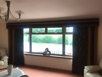 Curtain Panels & Pelmet