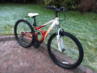 Apollo FS26 mountain bike, 26 inch wheels
