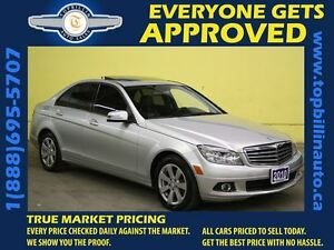 2010 Mercedes-Benz C-Class C250 4MATIC *Leather*Sunroof*124K