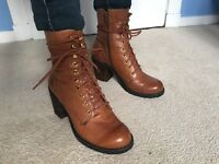 Vagabond Heeled Boots Size 5 / 38 (Leather) (Barely used)