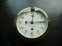 Antique Kelvin Hughes Brass Ships Clock