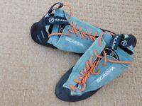 Scarpa climbing shoes