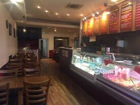 kebab and pizza takeaway and restaurant for sale