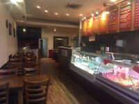 take away and restaurant for sale, finsbury park north london