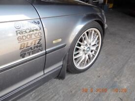 BMW 320d 2002 M'Tech Alloys £130