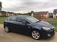 Vauxhall Astra 1.7 CDTi ecoFLEX 16v SRi 5dr 2010 60 Reg Diesel Low Mileage Long MOT