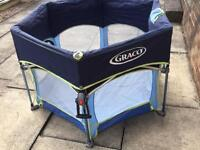 Graco pack n play sport playpen child's blue
