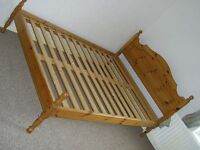 VERY NICE LOOKING WOODEN BED FRAME