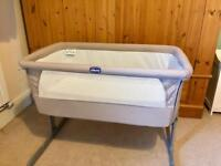 Chicco Next 2 Me side sleeper crib