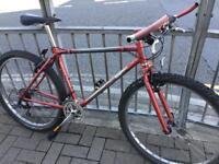 Retro Dyna Tech Titanium Mountain Bike