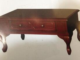 Beautiful mahogany coffee table £280
