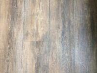 Oak effect vinyl flooring