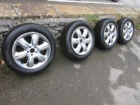 Continental Conti Winter Contact TS850 Winter Tyres 205/55/R16 on Chrysler PT Cruiser Chrome Alloys