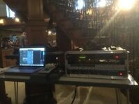 Recording engineer / producer available - Rehearsals, Churches, Live Venues, Voice-over, Production