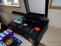 BROTHER MFC-J5910DW A3/A4 PRINTER and PLENTY INK ~ MATLOCK, DERBYSHIRE