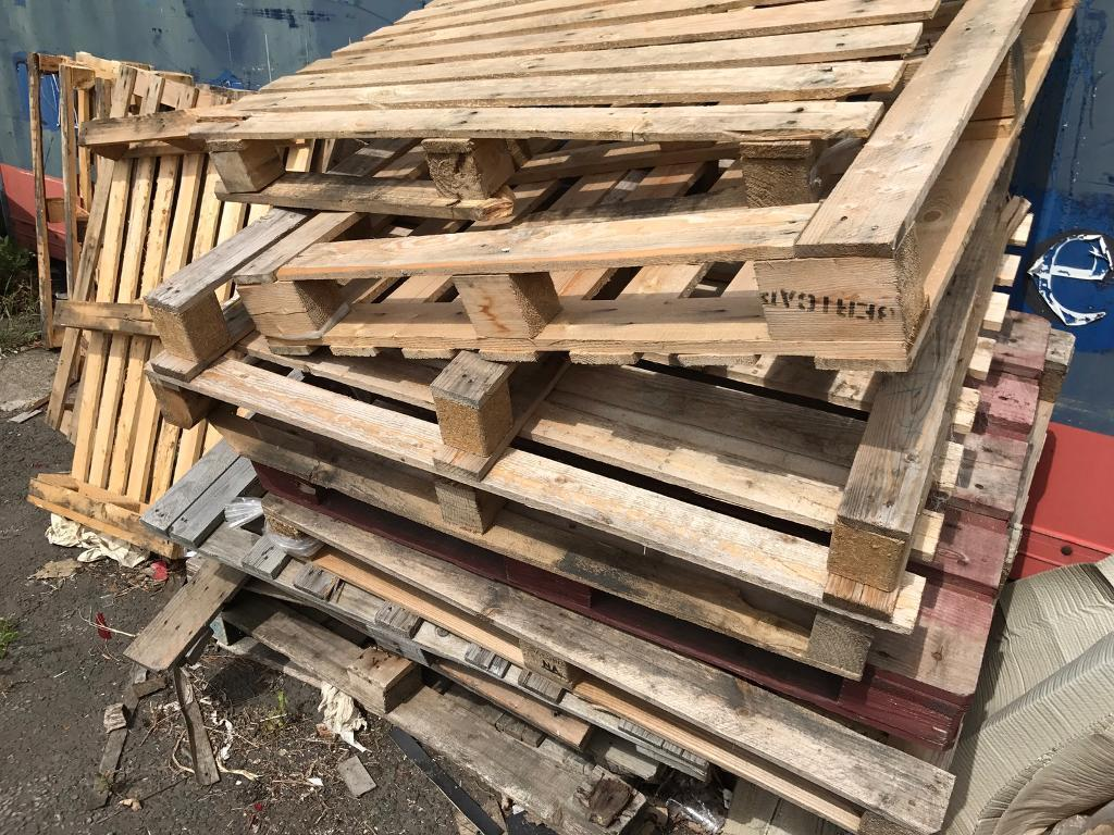 Wooden pallets of varying shape and sizes FREE