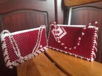Pair of beautiful ladies hand bags
