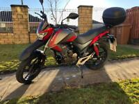 Kiden Aeries 125cc motorcycle