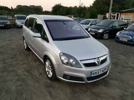 zafira Design 1.9L CDTI Diesel 5DR 2008 Automatic long mot full service history excellent condition