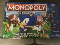 SONIC Monopoly **Brand NEW**