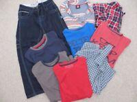 Mixed Bundle of Boys Clothes - 9 items - Next, M&S, Saltrock + more