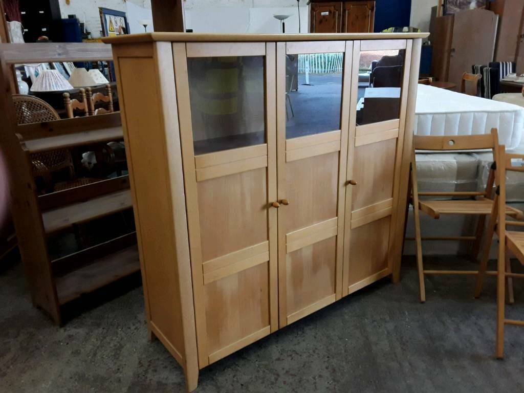 Large Sized Display Cabinet. Delivery Available