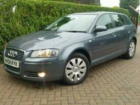2008 AUDI A3 1.9 TDI E*FSH*PANORAMIC ROOF*EL-PACK*R.TAX-£30+CHEAP INSURANCE*#SEAT#GOLF