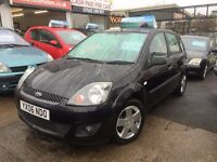 Ford Fiesta 1.25 Zetec Climate 5 DOOR,BLACK,FULL DEALER SERVICE ,11 MONTHS MOT,,5 DOOR ZETEC MODEL