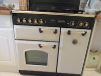 rangemaster gas/electric double cooker,grill,cream/black-west moores-bh216sa-01202 825668
