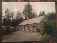 200 year old rural cottage on 1.5 acres of land in West Ireland, Co Galway