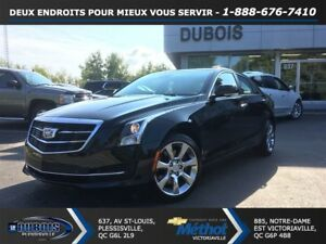 2016 Cadillac ATS 3.6L Luxury Collection + CUIR + TOIT + GPS