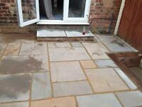 Paving supplied and fitted