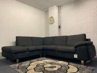 Beautiful Grey DWELL corner sofa & storage section delivery 🚚 sofa suite couch furniture