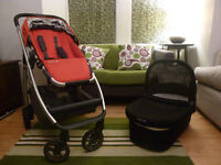 Uppababy Cruz pushchair and carrycot in good, clean condition.