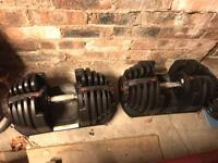 Bowflex 4kg - 41kg x 2