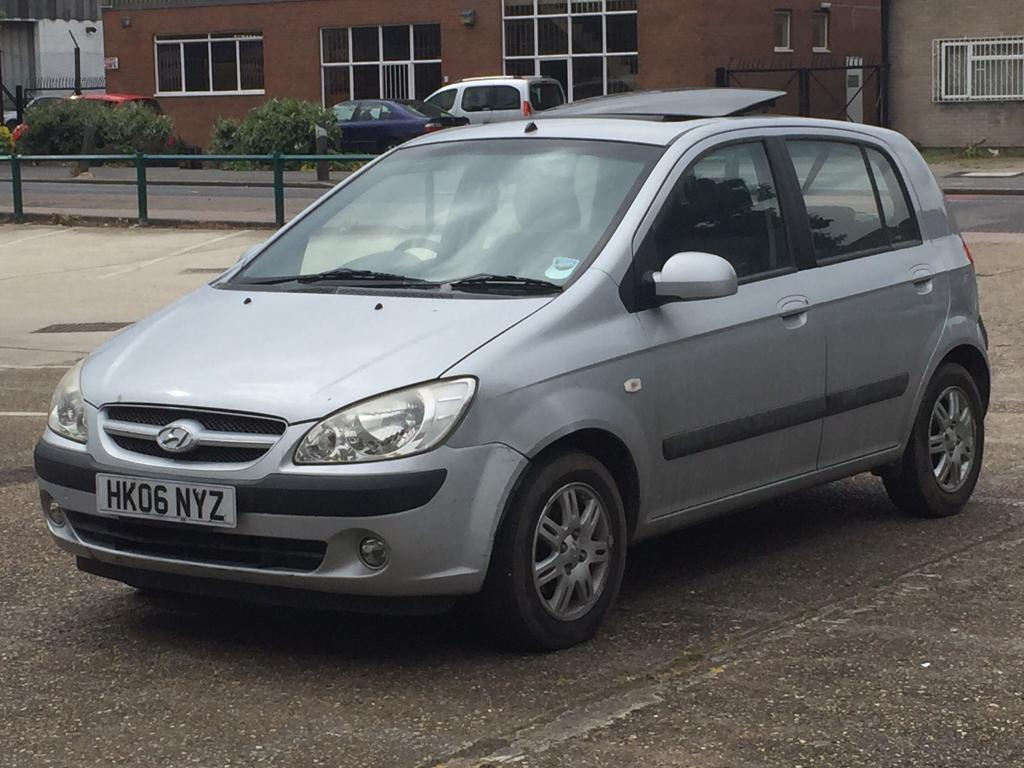 Quick sale 2006 hyundai Getz 1.4 cdx fully automatic petrol F.S history 79k  miles Electric Sunroof
