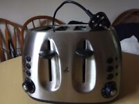 4 slice toaster...going cheap