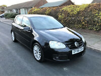 Volkswagen Golf 2.0 GT TDi 140 BHP 5 Door hatchback Manual VW GT Sport Black